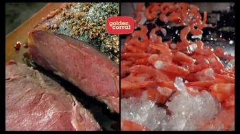 Golden Corral Prime Rib & Shrimp Trio TV Spot, 'Kick Off the New Year' - Thumbnail 1