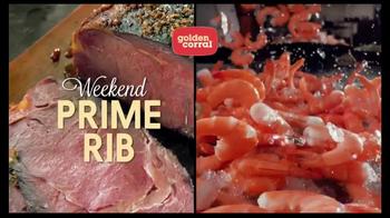 Golden Corral Prime Rib & Shrimp Trio TV Spot, 'Kick Off the New Year' - Thumbnail 2