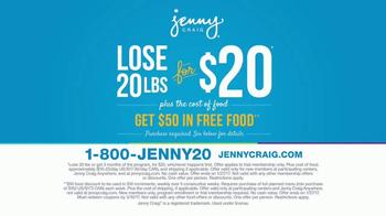 Jenny Craig TV Spot, '20 Pounds for 20 Dollars' - Thumbnail 6