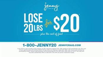 Jenny Craig TV Spot, '20 Pounds for 20 Dollars' - Thumbnail 3