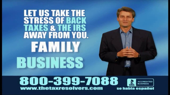 The Tax Resolvers TV Spot, 'Take the Stress' - Thumbnail 4