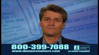 The Tax Resolvers TV Spot, 'Take the Stress' - Thumbnail 1