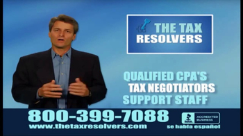 The Tax Resolvers TV Spot, \'Take the Stress\'