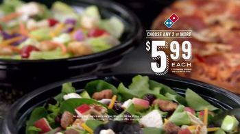 Domino's Salads TV Spot, 'Every Six Seconds' - Thumbnail 6