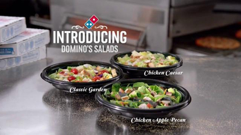 Domino's Salads TV Spot, 'Every Six Seconds' - Thumbnail 3