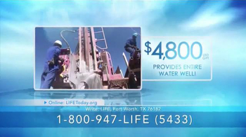 LIFE Outreach International TV Spot, 'Mission: Water For Life' - Thumbnail 7