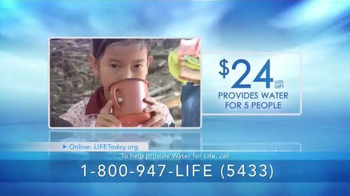 LIFE Outreach International TV Spot, 'Mission: Water For Life' - Thumbnail 2
