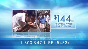 LIFE Outreach International TV Spot, 'Mission: Water For Life' - Thumbnail 3