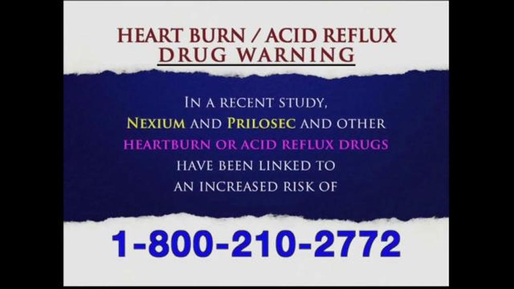 Levy Konigsberg Tv Commercial Heart Burn And Acid Reflux