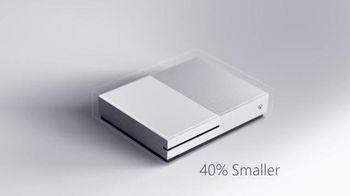 Xbox One S TV Spot, 'Smaller, Sleeker, Sharper'