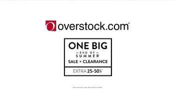 Overstock.com End of Summer Clearance Sale TV Spot, 'One Big End of Summer' - Thumbnail 6