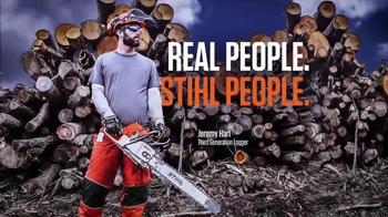 STIHL MS 170 Chainsaw & BG 50 Blower TV Spot, 'Warriors' - Thumbnail 1