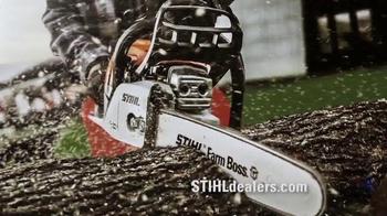 STIHL MS 170 Chainsaw & BG 50 Blower TV Spot, 'Warriors' - Thumbnail 7