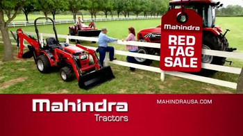 Mahindra Red Tag Sale TV Spot, 'Tractor'