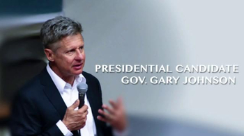 Purple PAC TV Spot, 'Gary Johnson for President' - 23 commercial airings