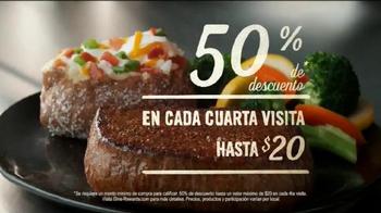 Outback Steakhouse Dine Rewards Program TV Spot, 'Sirloin' [Spanish] - Thumbnail 6