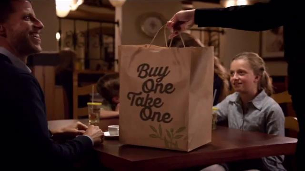 Olive Garden Buy One Take One TV Commercial, 'It's Back'