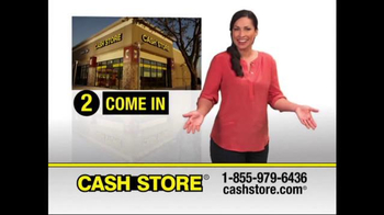The Cash Store TV Spot, 'Get More'