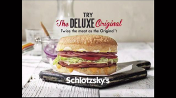 Schlotzsky\'s Deluxe Original TV Spot, \'Seeing Double\'