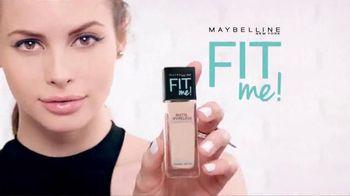 Maybelline New York Fit Me! Matte + Poreless Foundation TV Spot, 'Fit'
