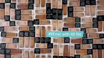 Maybelline New York Fit Me! Matte + Poreless Foundation TV Spot, 'Fit' - Thumbnail 6