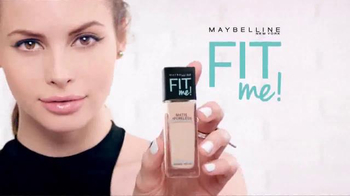 Maybelline New York Fit Me! Matte + Poreless Foundation TV Spot, 'Fit'