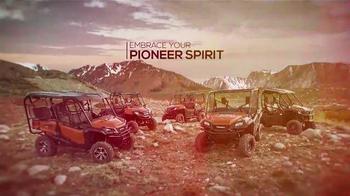 Honda Pioneer 1000 TV Spot, 'Pioneer Spirit' Featuring Tom Miranda - Thumbnail 5