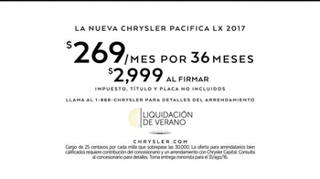 Chrysler Liquidación de Verano TV Spot, 'Fun Uncle' [Spanish] - Thumbnail 10