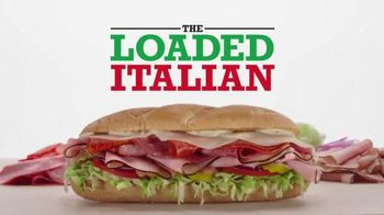 Arby's Loaded Italian TV Spot, 'Where Sandwiches Come From' - 427 commercial airings