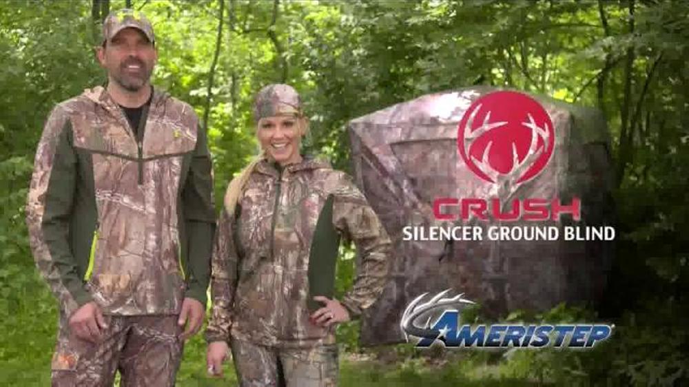 Ameristep Crush Silencer Ground Blind Tv Commercial