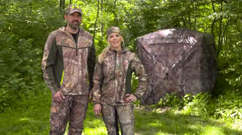 Ameristep Crush Silencer Ground Blind TV Spot, 'Perfect Features' - 403 commercial airings