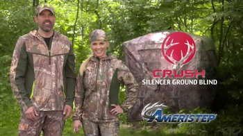 Ameristep Crush Silencer Ground Blind TV Spot, 'Perfect Features' - Thumbnail 10
