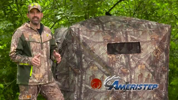 Ameristep Crush Silencer Ground Blind TV Spot, 'Perfect Features' - Thumbnail 5