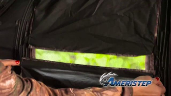 Ameristep Crush Silencer Ground Blind TV Spot, 'Perfect Features' - Thumbnail 7