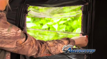 Ameristep Crush Silencer Ground Blind TV Spot, 'Perfect Features' - Thumbnail 8