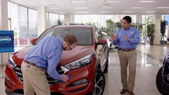 Hyundai Summer Clearance TV Spot, 'Big Idea: 2016 Tucson' - Thumbnail 1