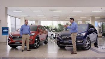 Hyundai Summer Clearance TV Spot, 'Big Idea: 2016 Tucson' - Thumbnail 3