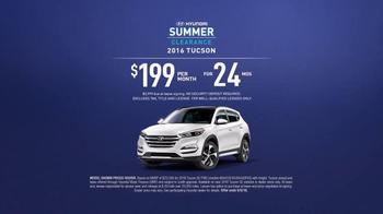 Hyundai Summer Clearance TV Spot, 'Big Idea: 2016 Tucson' - Thumbnail 8