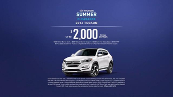Hyundai Summer Clearance TV Spot, 'Big Idea: 2016 Tucson' - Thumbnail 9