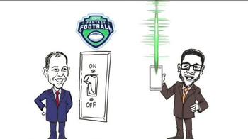 ESPN Fantasy Football App TV Spot, 'Cartoon' - Thumbnail 2