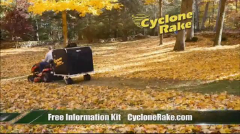 Cyclone Rake TV Spot, \'Fall Cleanup\'