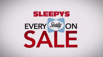 Sleepy's TV Spot, 'Ever Sealy on Sale'