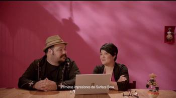 Microsoft Surface Book TV Spot, 'Los animadores Jorge y Sandra' [Spanish]
