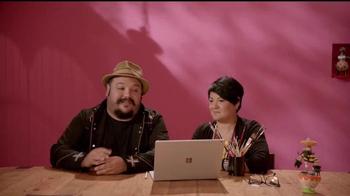 Microsoft Surface Book TV Spot, 'Los animadores Jorge y Sandra' [Spanish] - Thumbnail 9