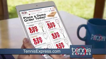 Tennis Express TV Spot, 'Tennis Demo Program'