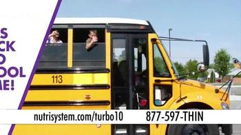 Nutrisystem Turbo10 TV Spot, 'Back to School: Make Some Time' - Thumbnail 1