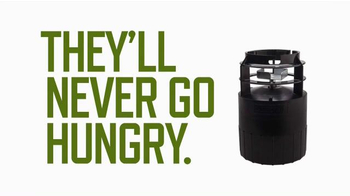 Moultrie Quick Lock Feeders TV Spot, 'They'll Never Go Hungry'
