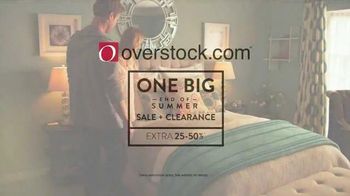 Overstock.com End of Summer Clearance Event TV Spot, 'Home Furnishings' - Thumbnail 10