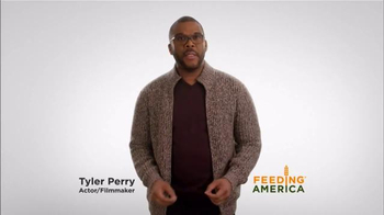 Feeding America TV Spot, 'Be a Part of the Solution' Featuring Tyler Perry - 146 commercial airings