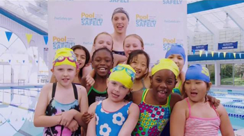 Pool Safely TV Spot, 'Swim Lessons' Featuring Katie Ledecky - 34 commercial airings